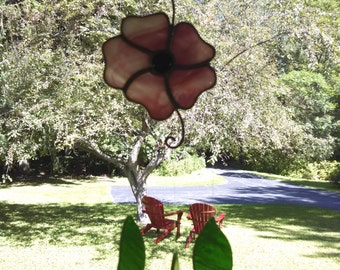 Flower and Leaves Windchime