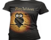 Womens Halloween T-Shirts, Men's T-shirts, Custom, Personalized, Monogrammed, Scoop, Crew, and V-Neck, Small - 3X