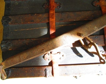 Antique Horse Tack, Vintage Singletree Harness Yoke, Mule, Horse, Primitive, Rustic, Barn, Farm Equipment, Farmhouse, Country, Cabin Decor