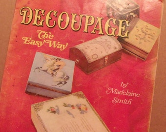 Craft Books Decoupage and Discards