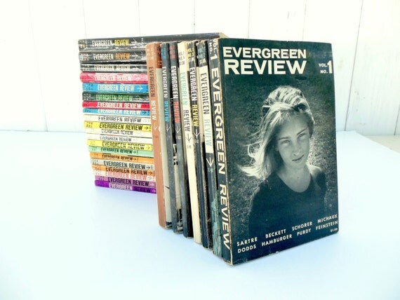 Evergreen review literary magazine collection by for Evergreen magazine