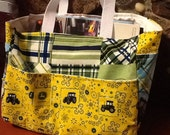 Children's activity tote