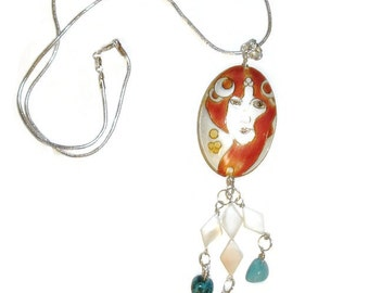 Goddess of the Earth and Sea Necklace