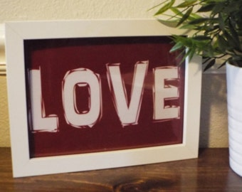 Popular items for loved printable on Etsy