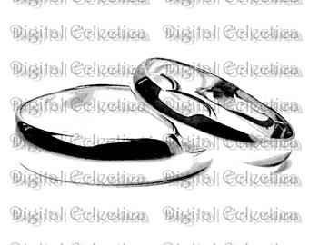 Wedding Rings Transparent Image. Wedding Rings PNG. Wedding Bands PNG. Wedding Ring Images. Wedding Ring Clipart. Wedding Scrapbook. No 0146