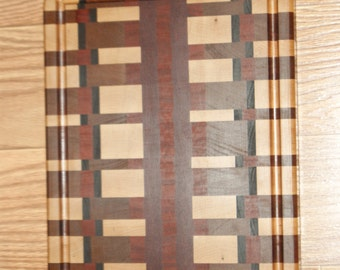 Hand Made Custom Full Size Cutting Board With Drip Catch