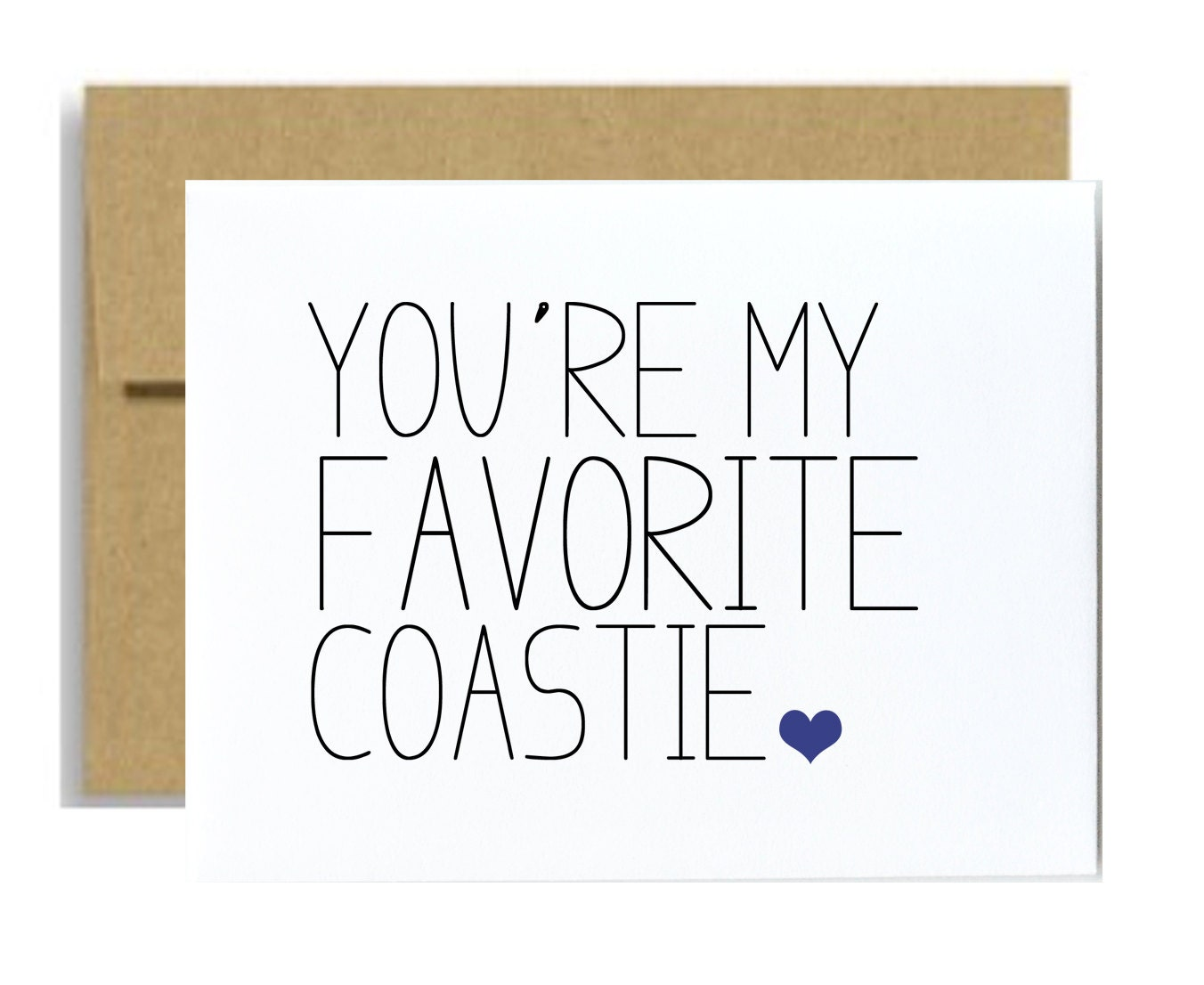 Coast guard greeting card you are my favorite coastie zoom magicingreecefo Image collections