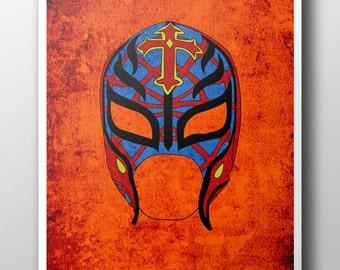 Rey Mysterio Minimalist Poster