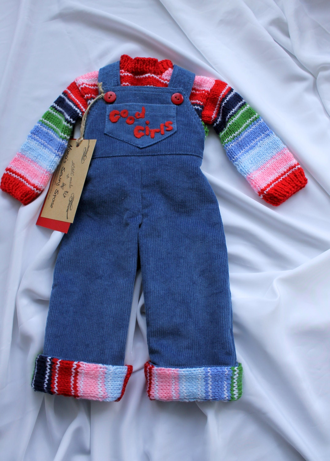 Corduroy Overall And Sweater Chucky Doll Good Guys Corduroy