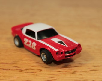 Vintage Tyco Chevy Camaro Z28 Slot Car, HO Scale (2 Of 2)