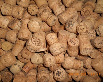 Used Champagne Corks, 100% champagne cork