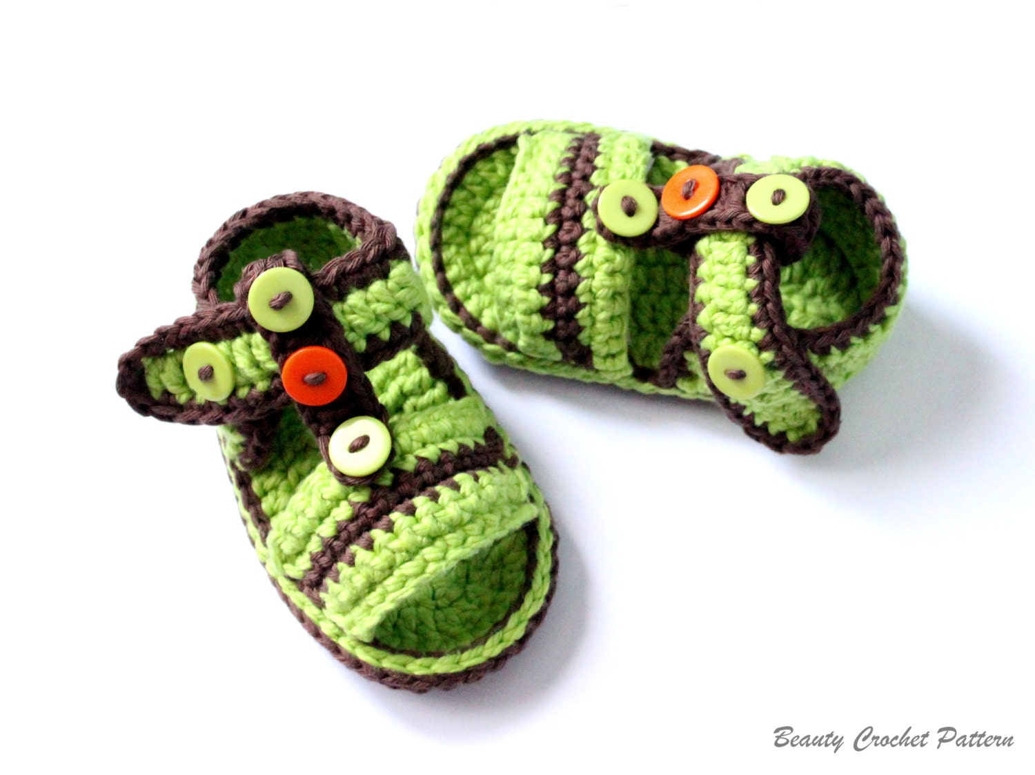 Crochet Baby Sandals Pattern Baby Boy Baby Girl Summer