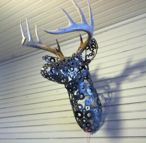Faux Bois De Cerf : Faux Deer Head