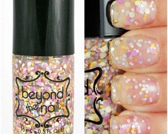Spring Confetti Glitter Nail Polish