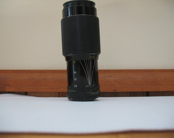 CANON ZOOM Lens FD 70-210mm F/4.0 With Maxtec 1A 58mm Filter