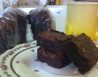 Scrumptious Triple Chocolate Gluten Free Brownies