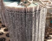 Accordian fold repurposed Book Frame