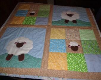 Soft Lamb Quilt