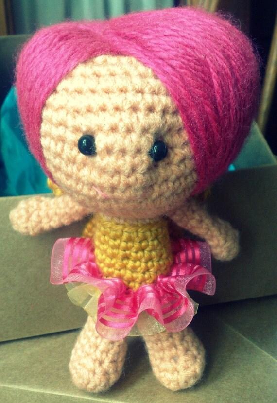 Amigurumi doll - Fairy - Crochet doll - Crocheted doll ...