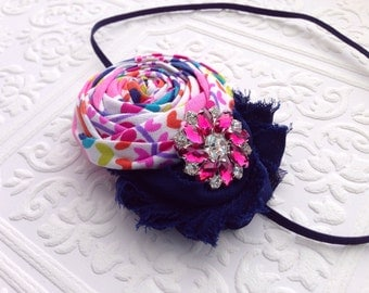 The Gretta's Garden Headband or Hair Clip