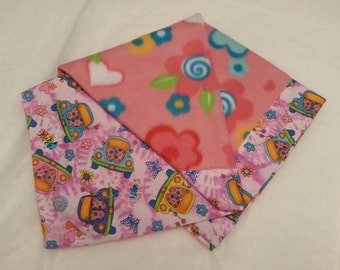 Beach Buggy Quilted Doll Blanket