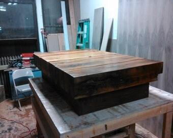 Antique Barn Beam Coffee Table