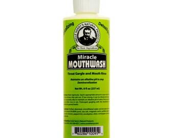 Uncle Harry's Natural Alkalizing & Detoxifing Mouthwash (8 fl oz)