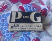 1950s P and G laundry soap