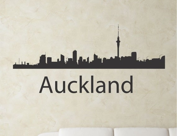wall decal letters nz new zealand city skyline vinyl wall art decal