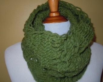 Neck Warmer, Scarf, Cozy Cowl Scarf, Circular infinity scarf,  Knitting,  Accessories, Fashion scarf