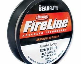 Fireline~ 4LB (Smoke color) 50 YDS