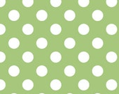 Green Medium Dot by Riley Blake 1 Yard