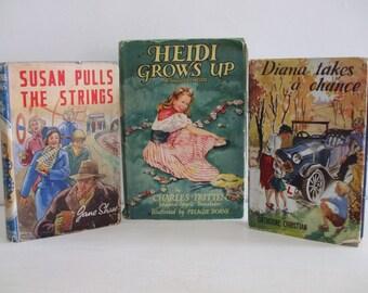 Vintage Children Books x 3