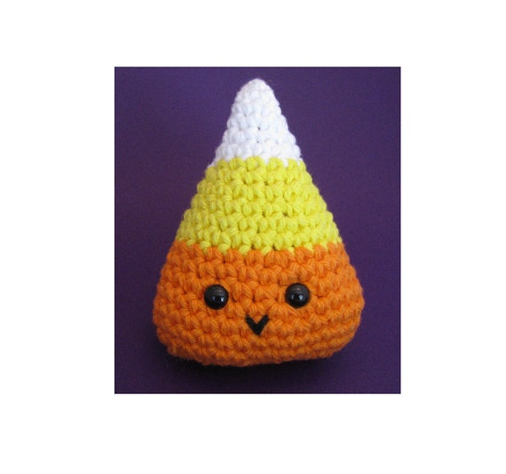 Amigurumi Crochet Pattern Quick and Easy Cute Candy Corn
