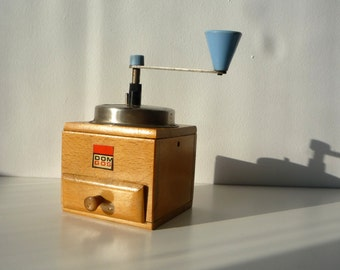 VINTAGE COFFEE  GRINDER - Wooden coffee grinder - Wood coffe mill- Houseware -Kitchen decor- Home decor-perfect conditions