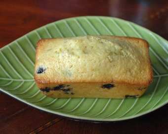 2 Small Lemon Blueberry Bread Loaves (2) Edible Gift, Fathers Day, Housewarming Gift, Hostess Gift, Gift Under 20, Holiday