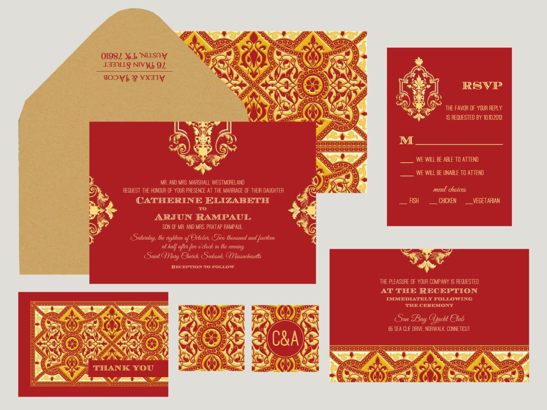 indian wedding invitations montreal - 28 images - indian wedding ...