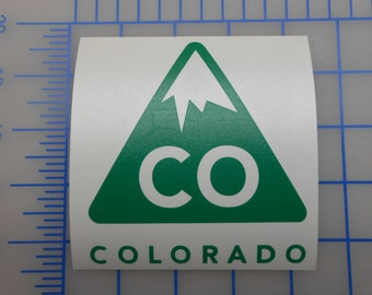 Colorado Brand Logo Decal - 3 Sizes - 14 Colors Free Shipping!!!