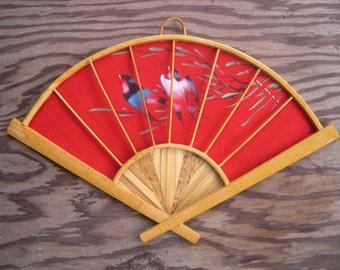 Red Oriental Fan