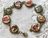 Bioshock Infinite Vigors Bracelet, Gaming jewelry, Bioshock, Geeky Jewelry, Booker Dewitt, Vigors, Elizabeth Comstock, Video Games,