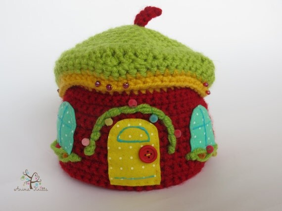 Amigurumi Doll House : Crochet Box, Amigurumi pattern, crochet pattern, doll ...
