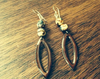 Fancy pants earrings