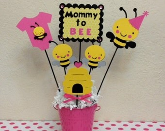 Bumble Bee Centerpiece Mommy To