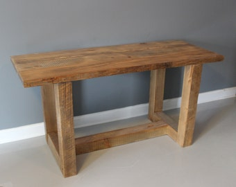 Dining Table, Reclaimed Wood, Square or Rectangle Dining Table Built From Reclaimed Wood