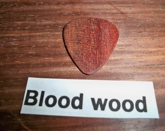 Bloodwood Guitar Pick