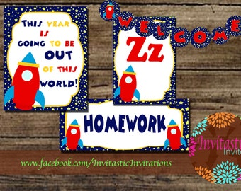 Popular items for classroom ideas on etsy - Outer space classroom decorations ...