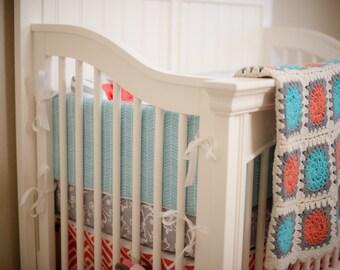 Custom Crib Bumpers - Choose Any Fabric