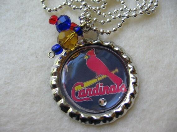 mlb st louis cardinals baseball pendant by