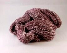 Teeswater Hand spun wool - Fine, Fingering weight, 2 ply, 185yds 5.5oz, organic yarn, handpainted
