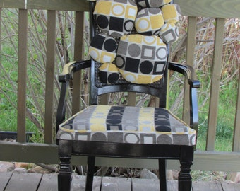 """Reupholstered """"Bubble"""" Chair"""